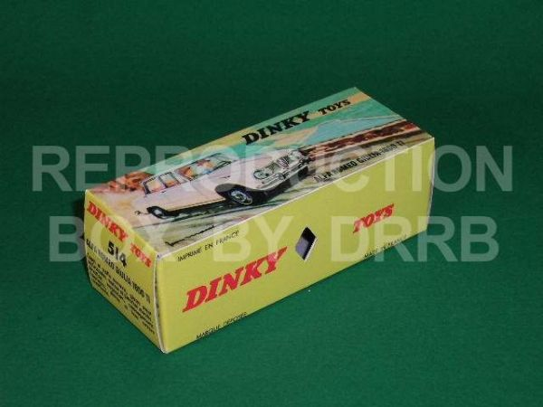 French Dinky #514 Alfa Romeo Giulia - Reproduction Box